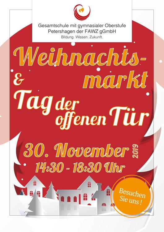 Gesamtschule Petershagen_Weihnachtsmarkt und Tag der offenen Tür am 30. November 2019