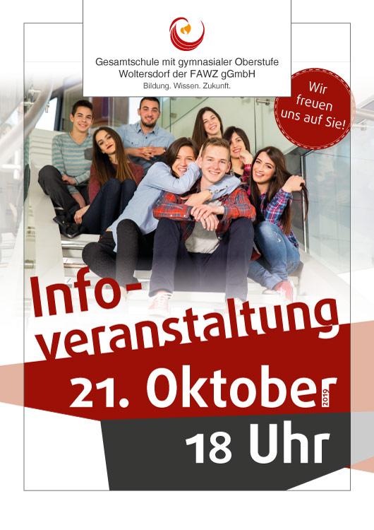 Gesamtschule Woltersdorf_Infoveranstaltung am 21. Oktober 2019