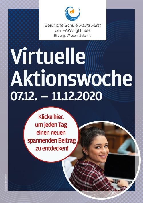 Virtuelle Aktionswoche der Beruflichen Schule Paula Fürst