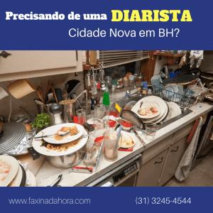 Diaristas e Faxineiras Bairro Cidade Nova Belo Horizonte