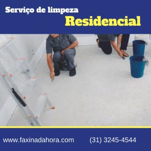 Serviço de Limpeza Residencial Minas Gerais em Belo Horizonte