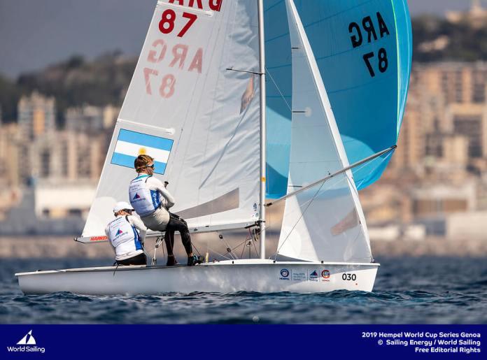 Clase 470 - Fernando Gwozdz & Tomas Dietrich - Hempel - Genoa 2019
