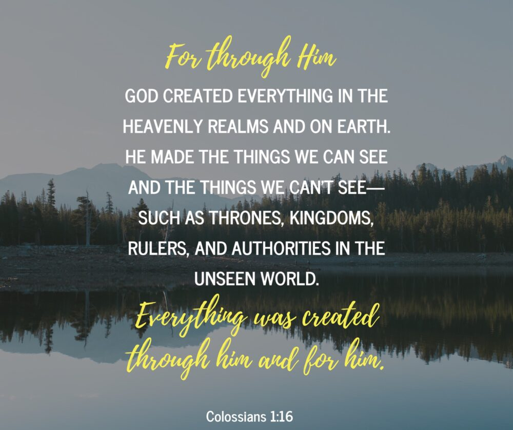 Created for Jesus