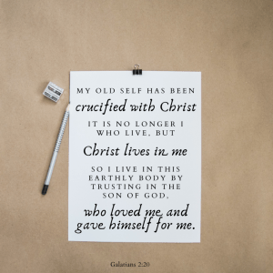 Have you been crucified?