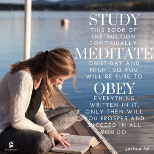 Study leads to obedience leads to success