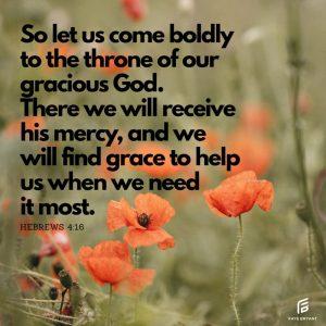 Do you deserve grace & mercy?