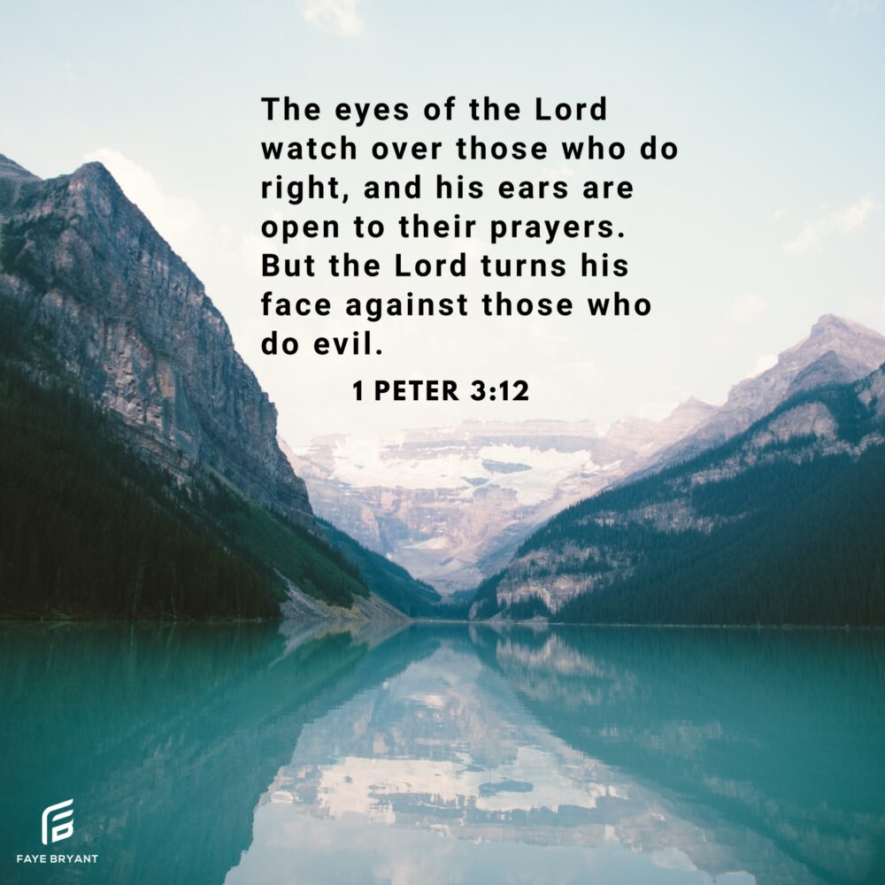 Obedience receives God's favor; evil does not. Choose well.