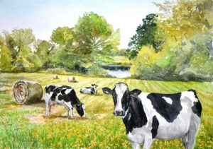 featured image showing original paintings available from SJB Fine Art