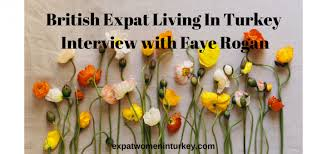 An interview for 'Expat Women in Turkey' website