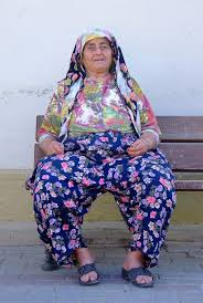 Turkish grandmother