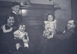Levinsky Family, circa 1938