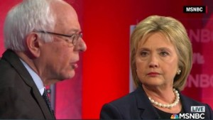 Hillary & Bernie @ MSNBC Debate