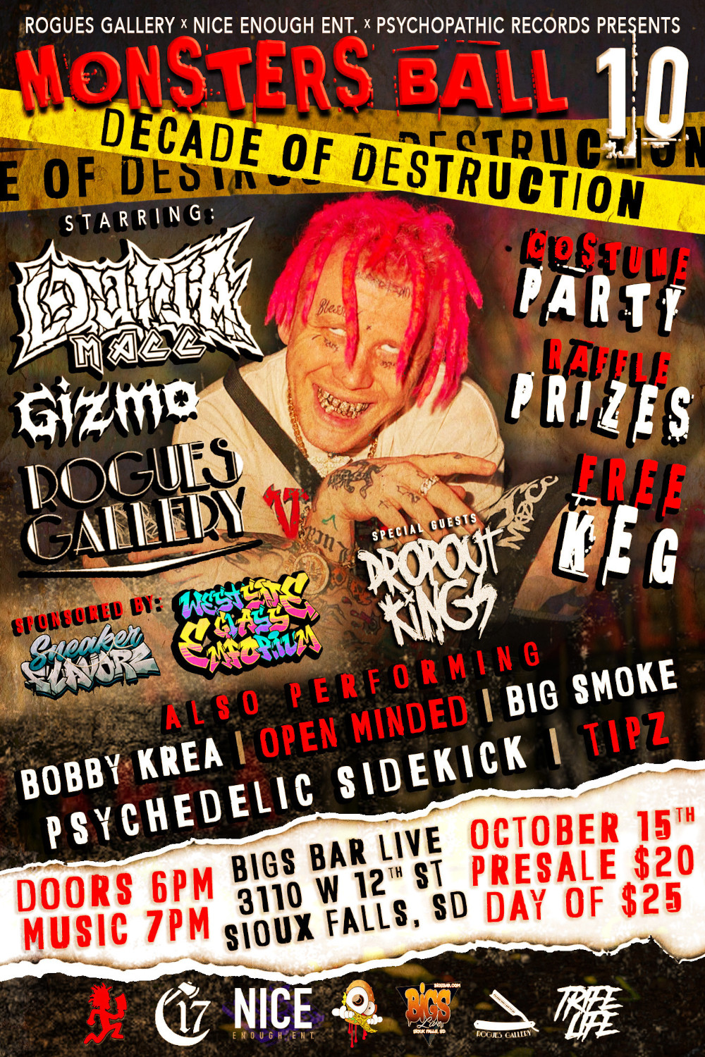Monster's Ball 10 (ft. Ouija Macc, Dropout Kings, More) - Sioux Falls, SD