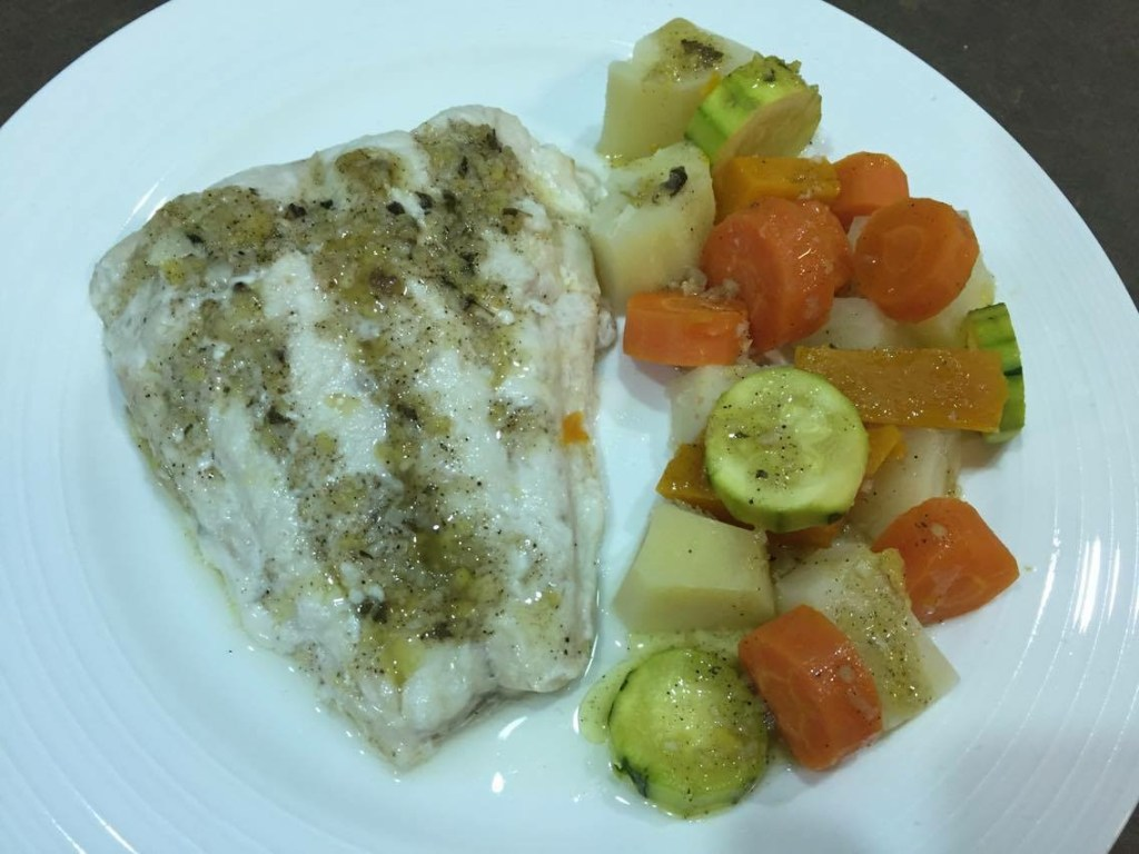 Steamed Fish In Your Thermo Mixer