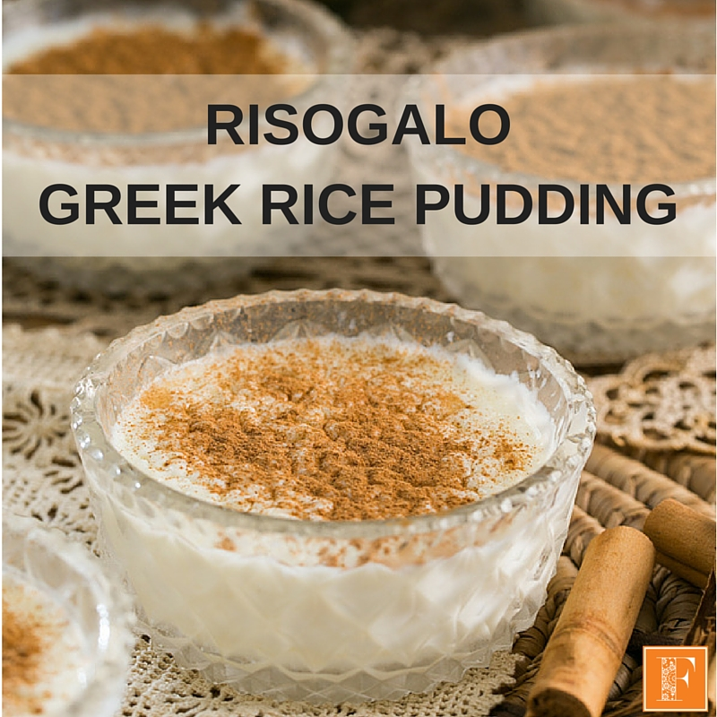 Risogalo Greek Rice Pudding