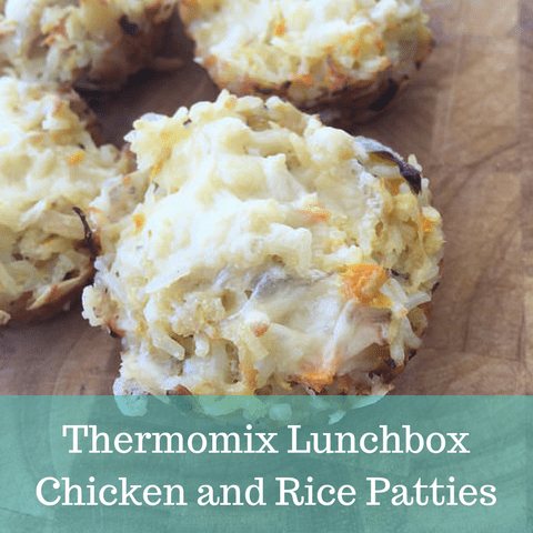 Lunchbox Chicken and Rice Patties – Recipe For Your Thermomix