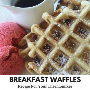 Breakfast Waffles Gluten Free Dairy Free Thermomix
