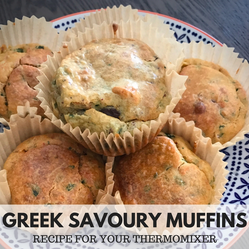 Greek Savoury Muffins – Recipe For Your Thermomix