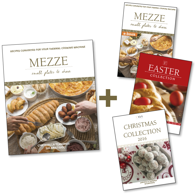 Mezze Print Book + 3 Ebook Bundle