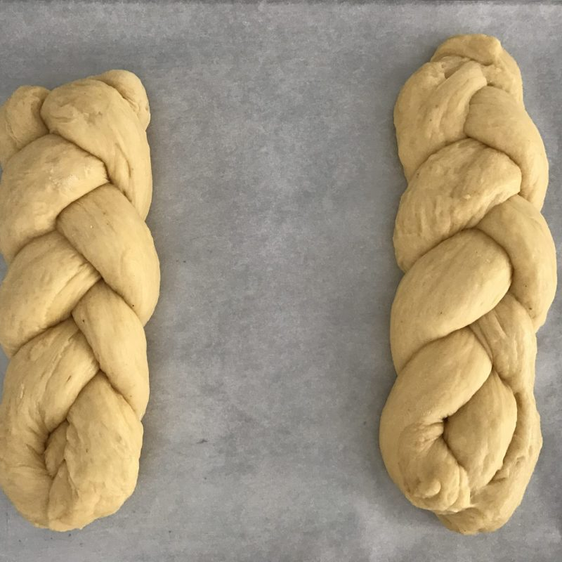 How To Roll Tsoureki Greek Easter Bread