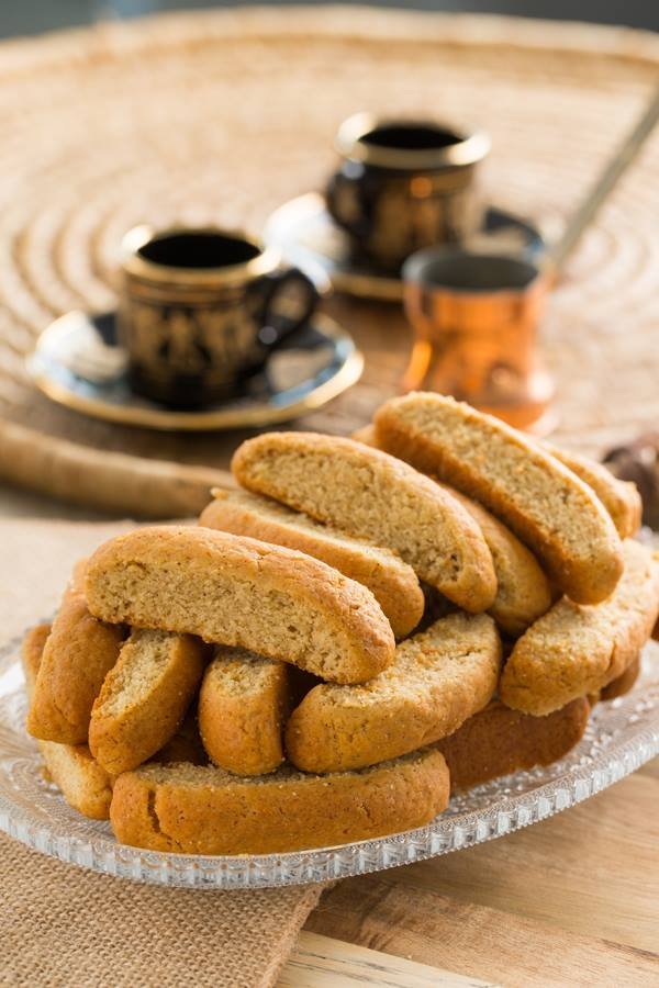 Greek Paximadia Sweet Bread Rusks Recipe Converted For Thermomix