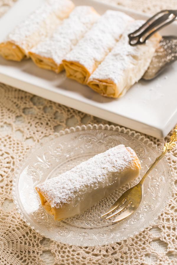 Bougatsa Custard Pie Thermomix Recipe