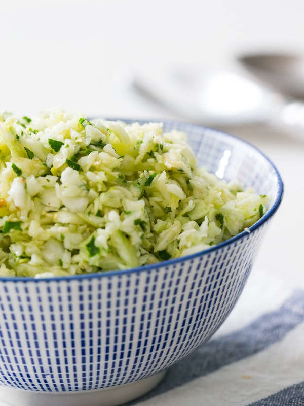 Thermomix Fennel and Cabbage Salad