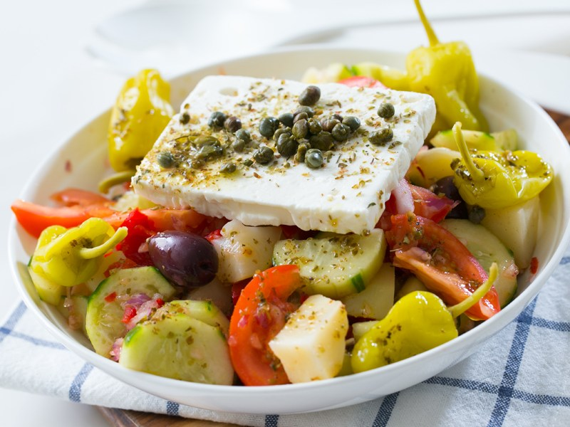 Thermomix Greek Salad With Potato