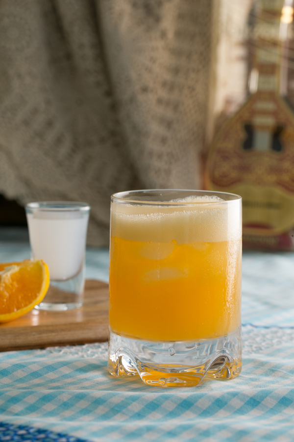 Thermomix Ouzini Ouzo with Orange Juice