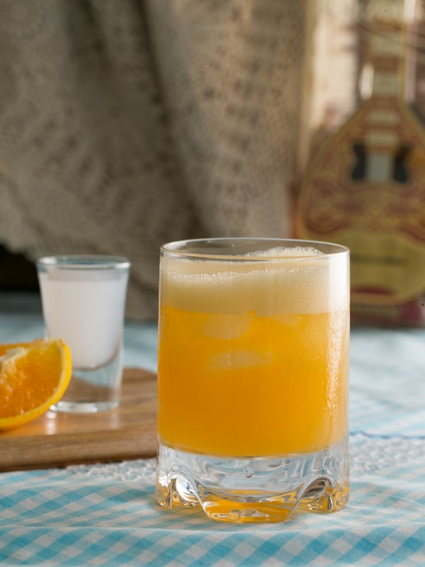 Ouzini Ouzo with Orange Juice – Thermomix Recipe