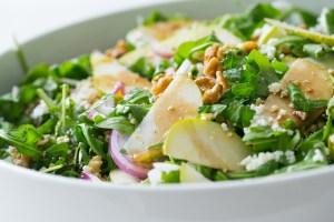Thermomix Rocket, Pear & Feta Salad
