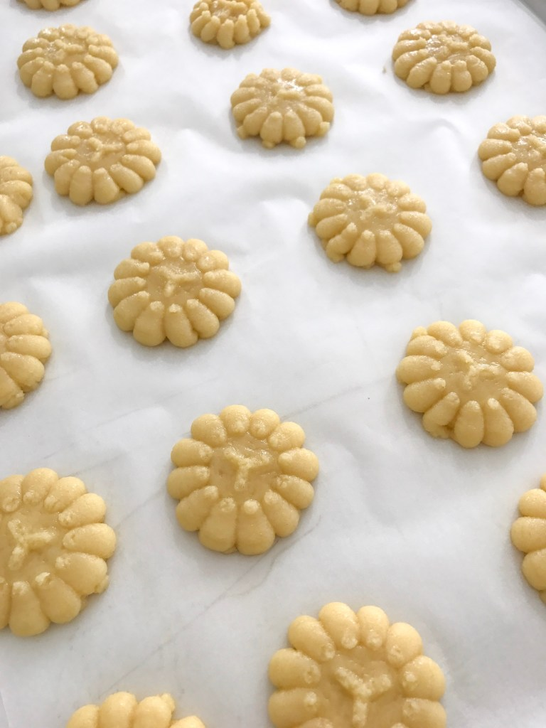 Cookie Pressed Butter Biscuit