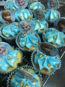 Elsa Frozen Cupcakes
