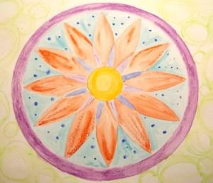 flower mandala surrender
