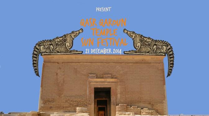 "Qasr Qaroun Temple Sun Festival ""The Wonder of the Sun"" 21 December"