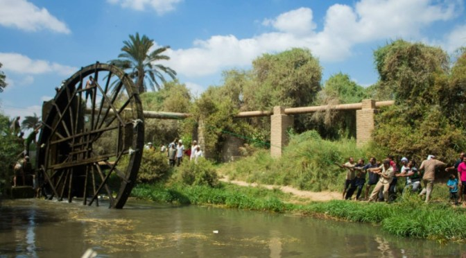 The Noria of Basiouniya (Egypt's Largest Waterwheel)