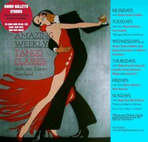 Galleto Tango Studio - Classes with Fayzah