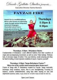 Galleto Tango Studios NYC - classes with Fayzah