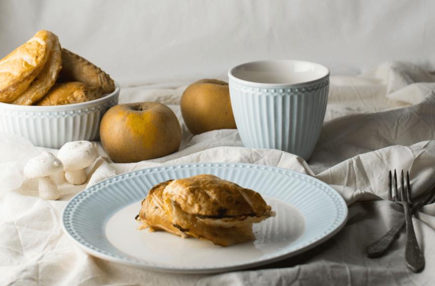 Chaussons de maçã, receita Faz e Come