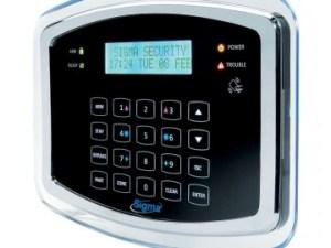 PROTEUS KP/B RFID Πληκτρολόγιο αφής