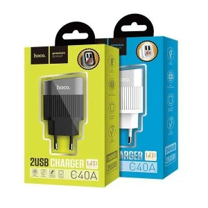 hoco c40a dual usb charger 1