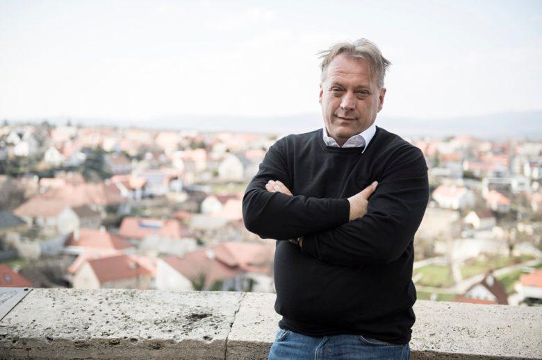 Fazekas Zsolt a veszprémi várban - Euronics Kft. (Zuckerberghez hasonló emberek)