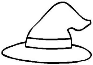 Witch-Hat-Coloring-Page
