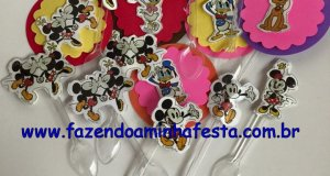 Moldes prontos para toppers de cupcakes e docinhos