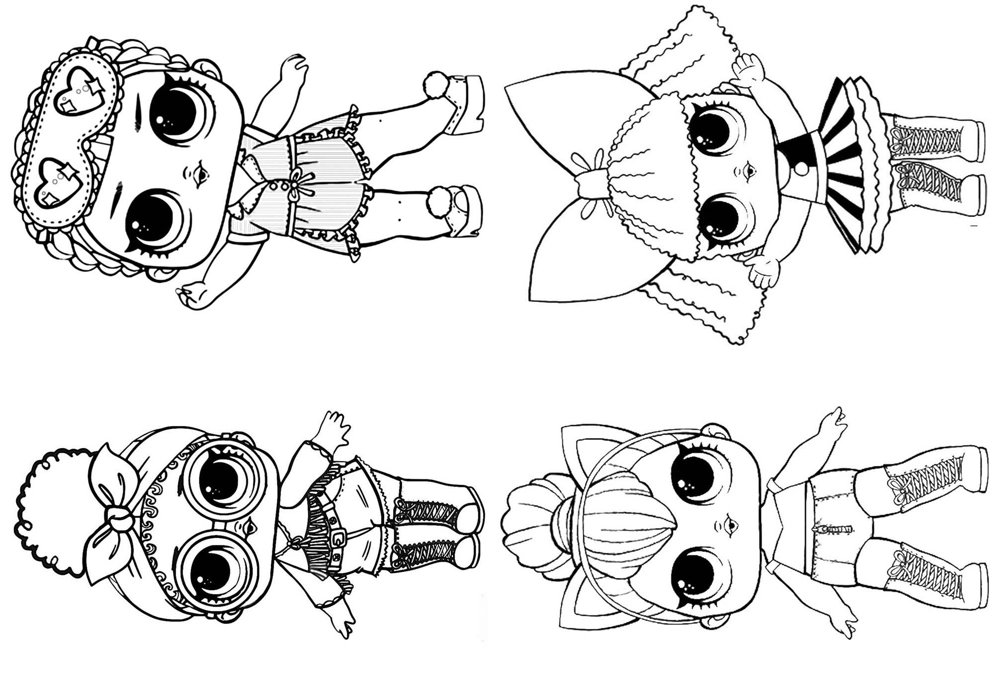 Imprimir Dibujos Para Colorear Munecas Lol Resultado De Imagen De