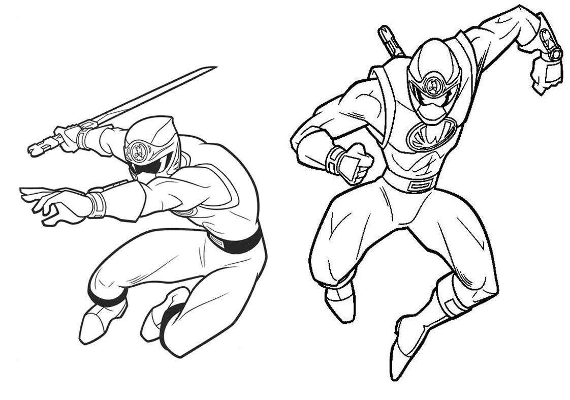 Livrinho Para Colorir Power Rangers 5