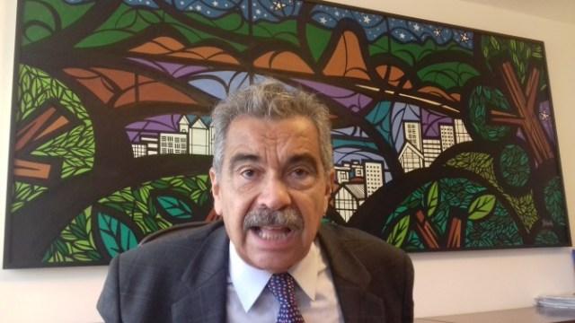 Advogado e professor de direito penal brasileiro Nilo Batista. Foto: Eduardo Sá/Fazendo Media.