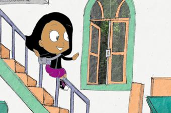 """Imagem do filme de animação """"Familia Vegan"""". Foto: Arquivo Cinema Nosso."""