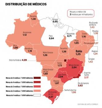 mapa medicos