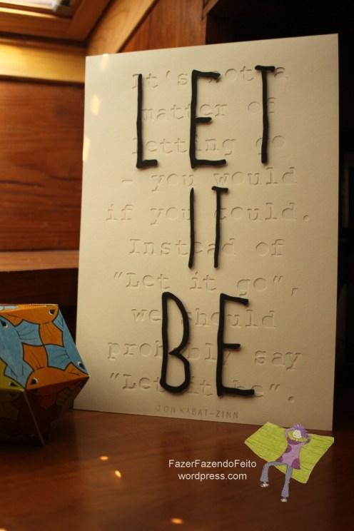 Let it Be Kabat-Zinn